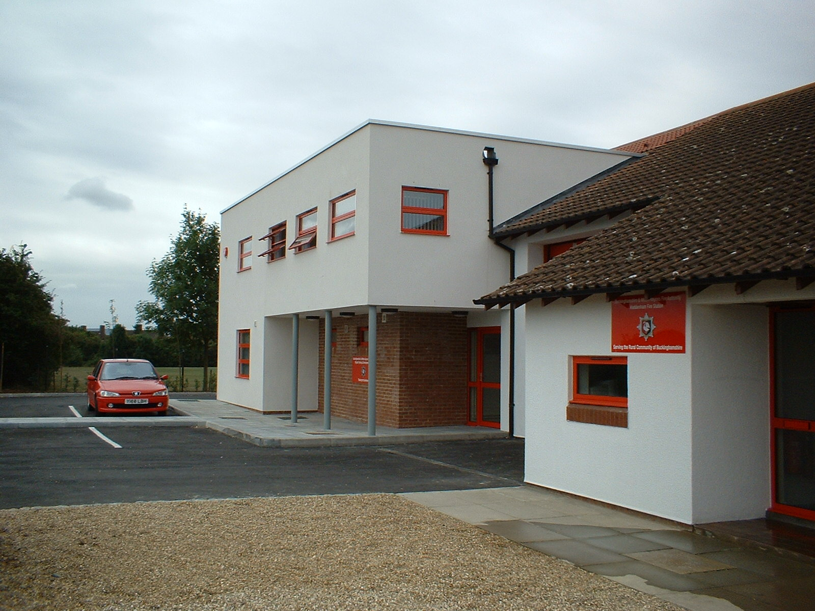 Haddenham Fire Station Extension