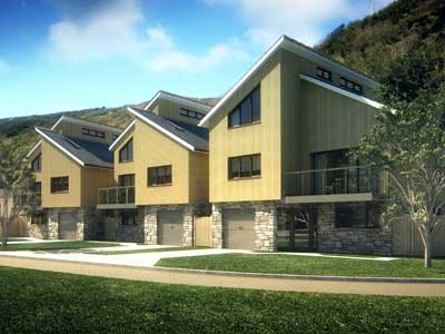 Gated residential development at Portreath