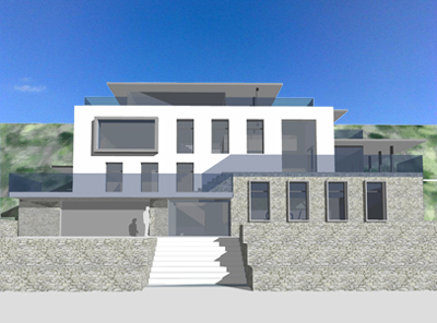 A modernist seaside villa