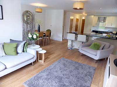 New housing development, Hartland Devon